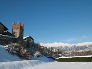 Un borgo e le sue montagne
