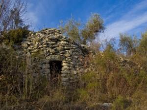 Casotto di pietra sui Colli Berici