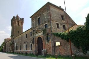 Il  Castello di San Pelagio,prospettiva