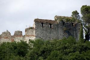 particolare della Rocca di Ripafratta