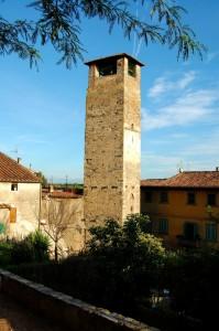 la Torre dell'Orologio di Vicopisano