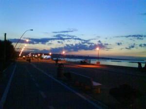 tramonto san salvo marina