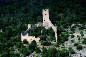 Un castello sul pendio