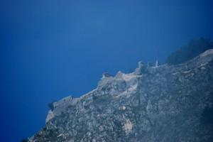 I ruderi del Castello d'Ocre da Aveja