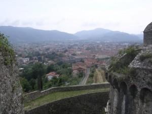 Vista id Sarzana dal castello