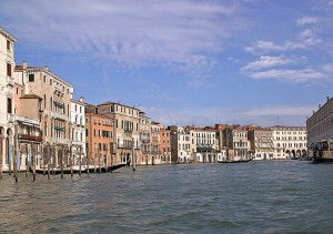 Panorama sul Canal Grande
