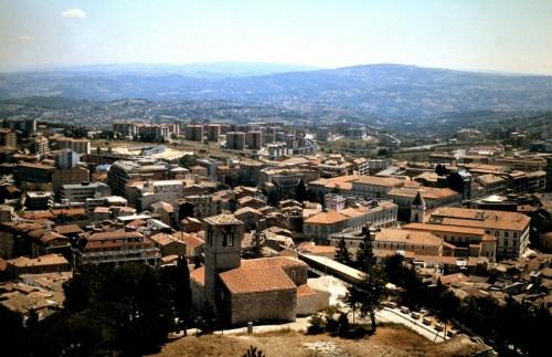 Campobasso - Campobasso- Panorama dal castello