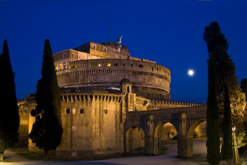 Roma - Notturno a Castel Sant'Angelo