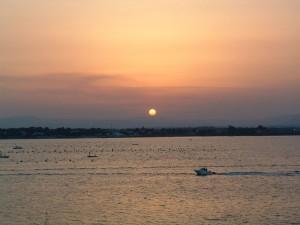 Belvedere al tramonto