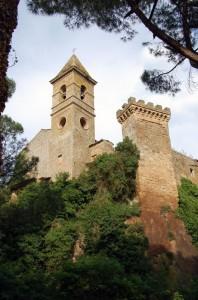 Particolare di Castel Rubello