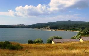 Panorami dalla Sila - vista sul Lago Cecita