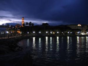 Diano marina by night
