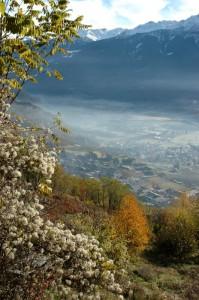 Chiuro e frazioni dalla Val Fontana