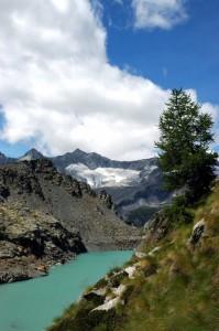 Lago Pirola e  alta Val Sissone