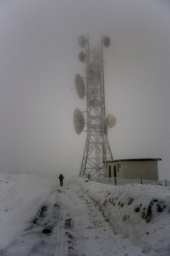 Cogoleto - nevicata sul monte beigua