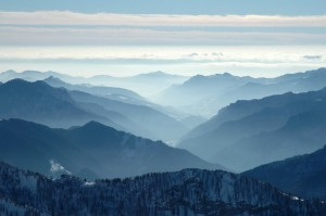 La Val Brembana di Valleve al di là del passo di Tartano