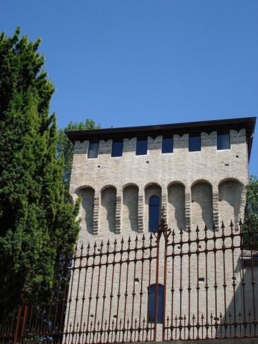 Parma - La Torre della Rochetta del Ponte Ghiaia