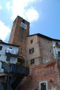 la torre civica e una scala…moderna