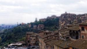 Tetti di Siena