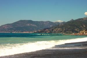 Tra Bordighera e Ventimiglia