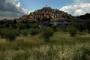Panorama di Palombara Sabina