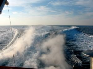 Le isole Tremiti dal traghetto