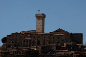Il castello Savelli Torlonia di Palombara Sabina.