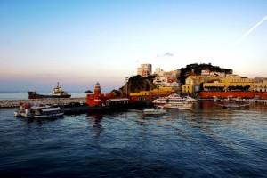 Tramonto al Porto di Ponza