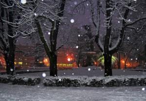 Reggio e la neve