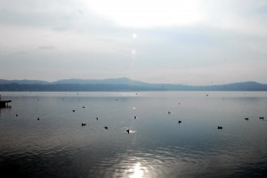 Il Lago di Viverone, acqua accecante