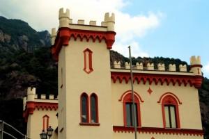 Il Castello Baraing, taglio