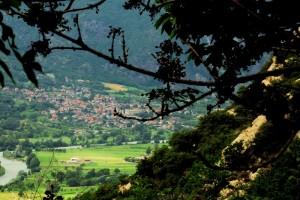 Issogne, borgo pennellato