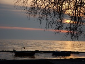 tramonto sullo Jonio