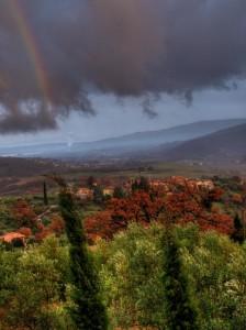 arcobaleno sopra missiano