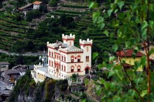 Il Castello Baraing, maquillage