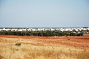 Maruggio, panorama da ovest