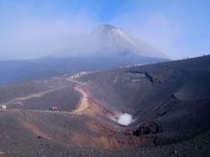 Passeggiata sul cratere
