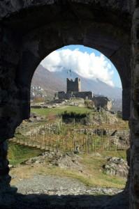 Castel Grumello sopra Sondrio