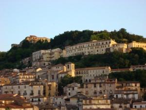 Cosenza e il castello Svevo