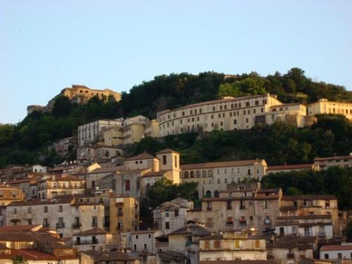 Cosenza - Cosenza e il castello Svevo