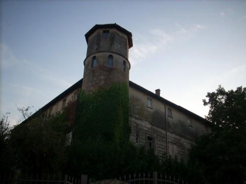 Castiglione d'Adda - La torre circolare del Castello Serbelloni
