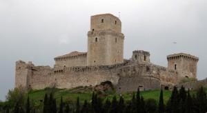 La rocca maggiore d'Assisi