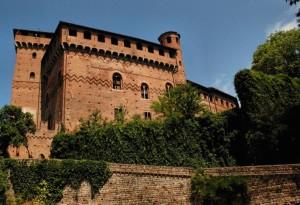 un imponente castello