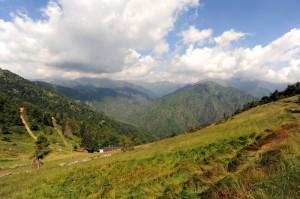Panorama verso nord dalla Bocchetta Di Margosio