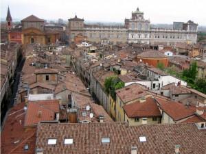 la città vista dall'alto