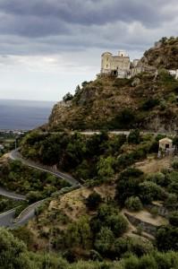 la strada panoramica dei Peloritani