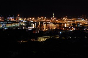 il porto e le sue luci