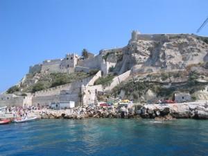 il castello e il mare
