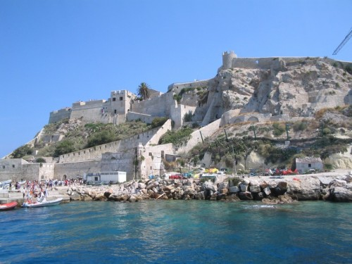 Isole Tremiti - il castello e il mare
