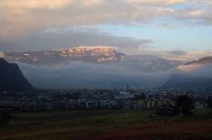 Bolzano al mattino